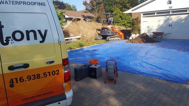 Drain Repair by Excavation