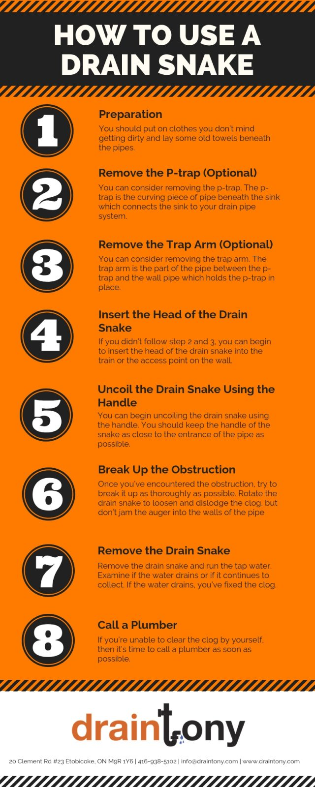 How to Use a Drain Snake